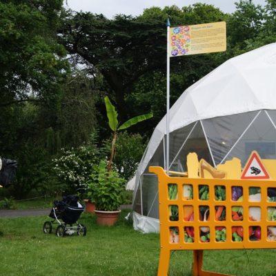 Außengelände vom Weltgarten in Nordhorn 2018